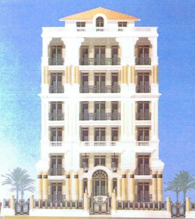 Строительство многоквартирного дома в Монако.