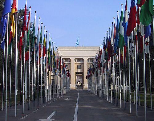 Дипломатический паспорт - ООН, с аккредитацией в Женеве