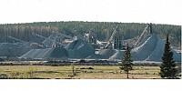 Производственный комплекс по производству щебня, товарного и дорожного камня, монолитных блоков.