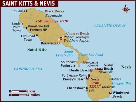 Получение второго гражданства в Сент Китс и Невис.