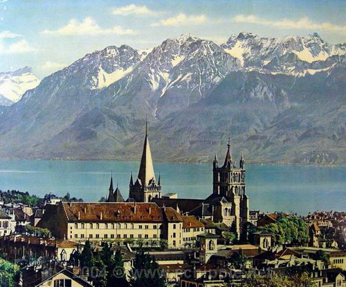 Коммерческая площадь – бюро в долгосрочной аренде в Лозанне, кантон Во, Швейцария.