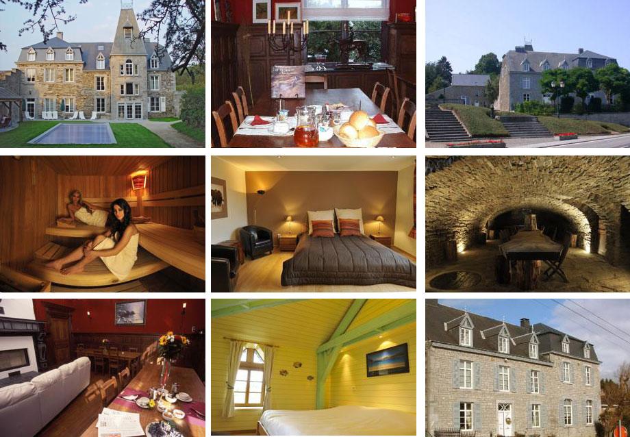 Замок 18 века в Бельгии