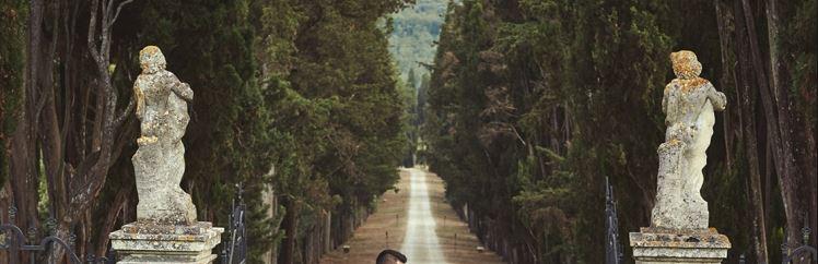 Замок в Италии и виноделие