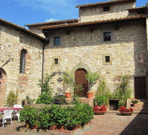Замок, винный завод и ресторан в Кьянти, Италия (регион Тоскана)