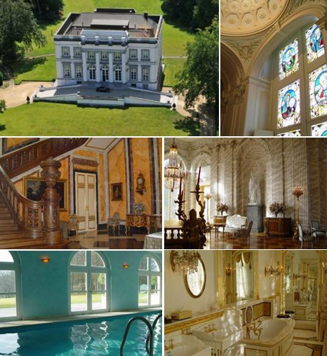 Старинный известнейший замок в Бельгии – в 55 км от Брюсселя, на участке около 14 га