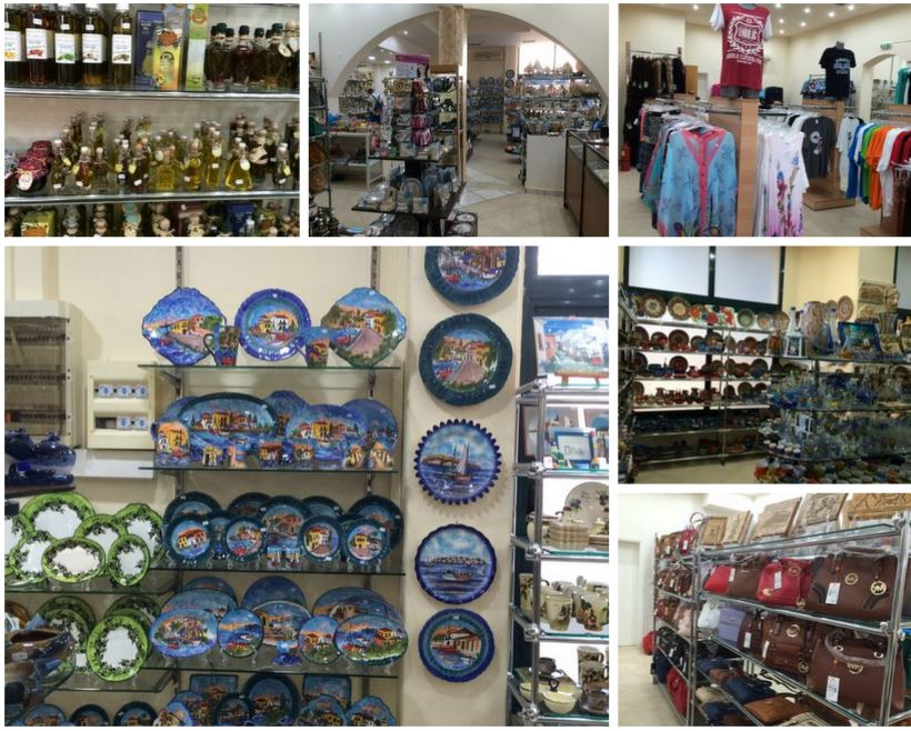 Продается бизнес в Греции - магазин туристических товаров
