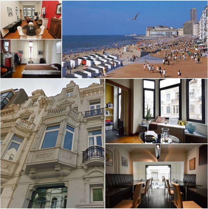 Великолепный дом с рестораном рядом с морем в Остенде, продается на условиях пожизненной ренты, очень редко!