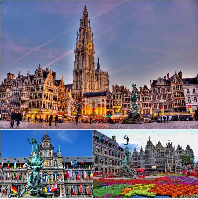 Дом на центральной площади Антверпена, редчайшее предложение!