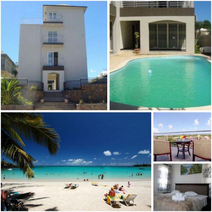 Великолепный отель на острове Маврикий, у самого красивого пляжа острова.