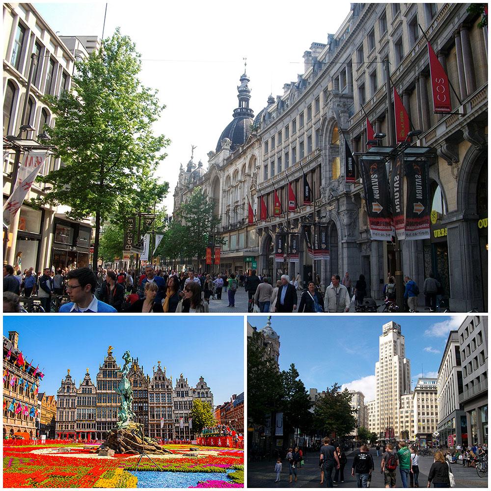 Гостиница плюс многоквартирный дом в центре Антверпена, Бельгия