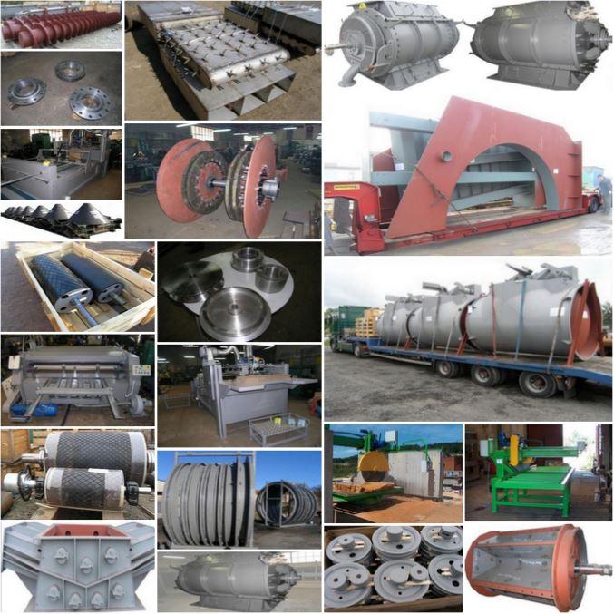 Компания по изготовлению сварных стальных конструкций, оборудования и машин в Европе