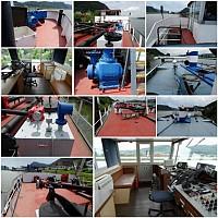 Переоборудование судна в сухогруз и эксплуатация по внутренним рекам Европы с большой рентабельностью.
