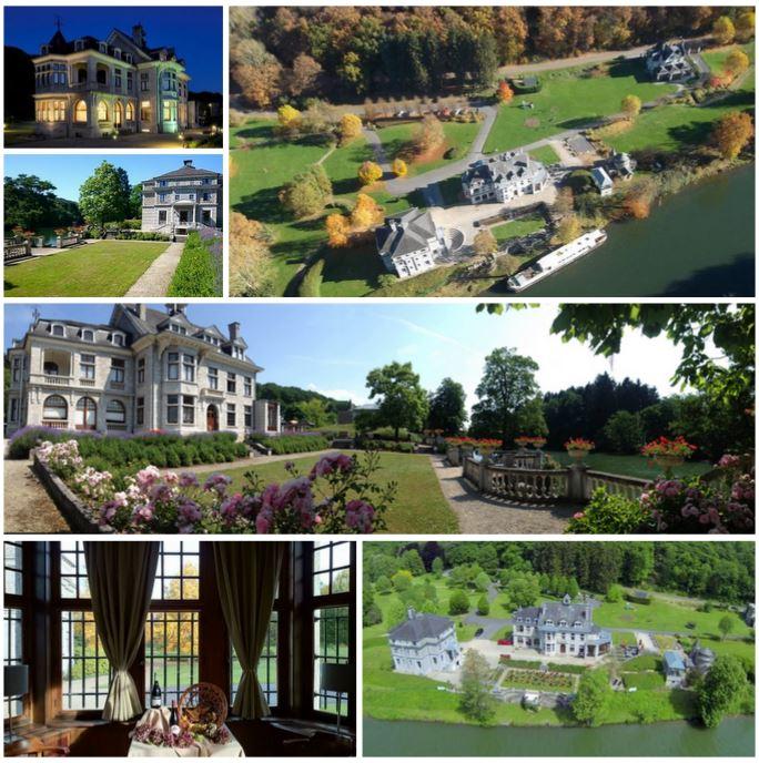 Громадный ареал с великолепным замком, гостинично-ресторанный комплекс в Бельгии рядом с Францией
