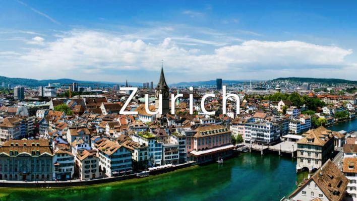 Гостиница в Цюрихе, Швейцария.