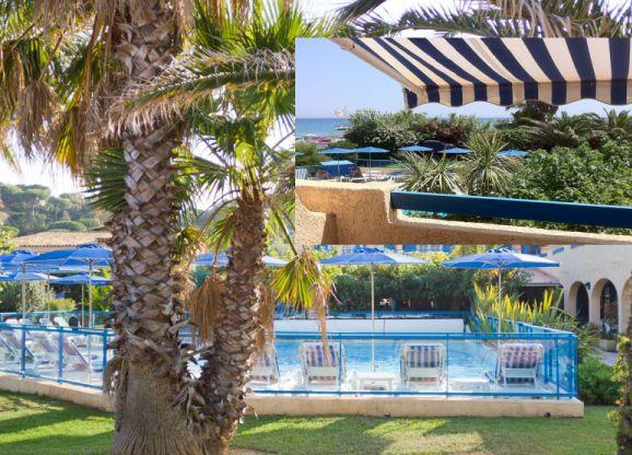Гостиница 3 звезды в Сан Максиме, на Лазурном берегу Франции