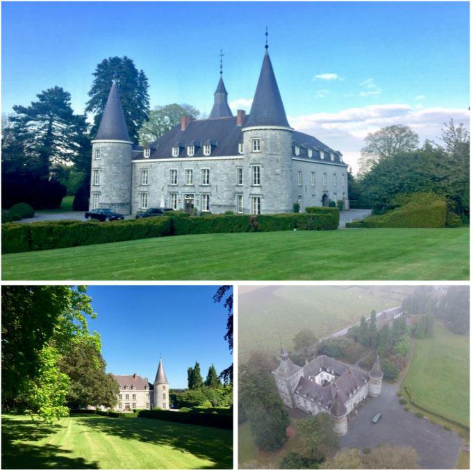 Великолепный замок в провинции Люксембург, Бельгия