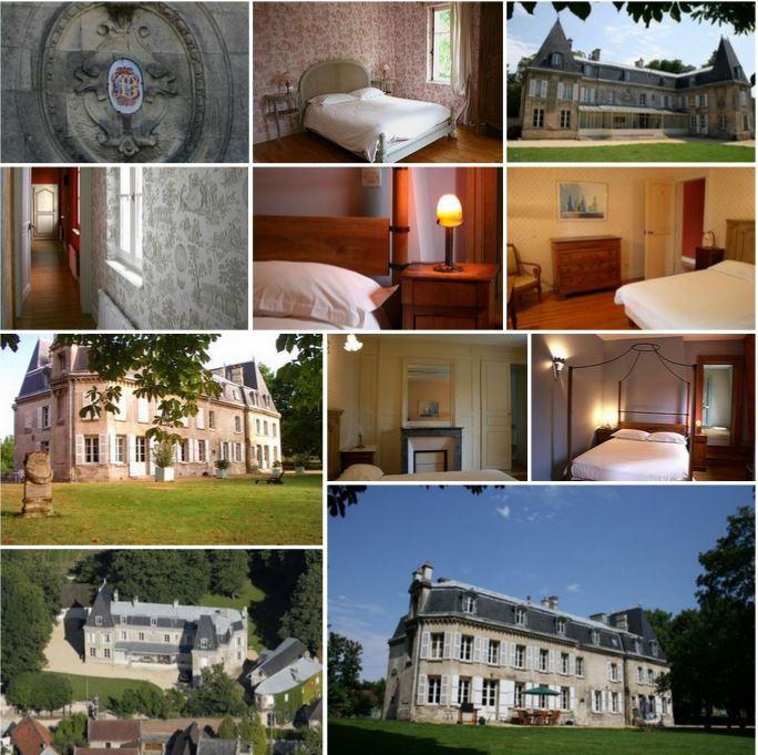 Замок в 90 км от Парижа, Франция