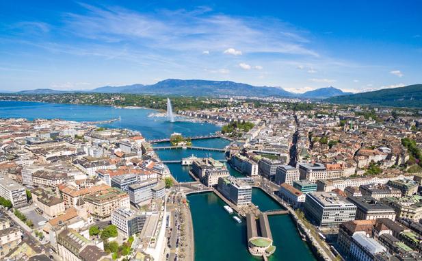 Продажа 5 коммерческих зданий в центре Женевы, Швейцария.
