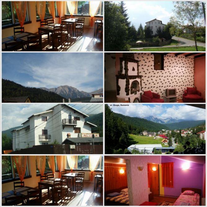 Гостиница на горнолыжном курорте в Румынии.