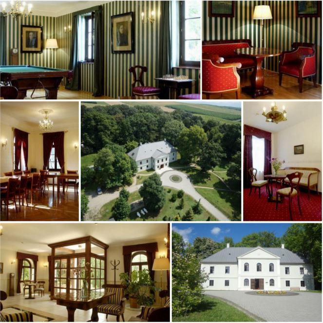 Неоклассический замок в Венгрии, в 35 км от Кошице