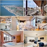Гостиница в центре морского бельгийского курорта Остенде, рядом с пляжем