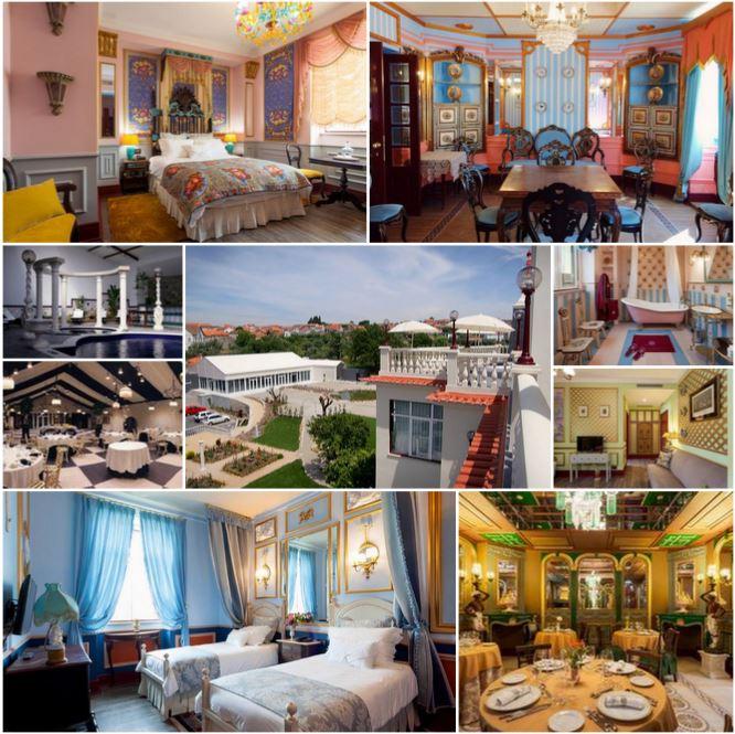 Красивый отель 5 звезд, в самом сердце Португалии