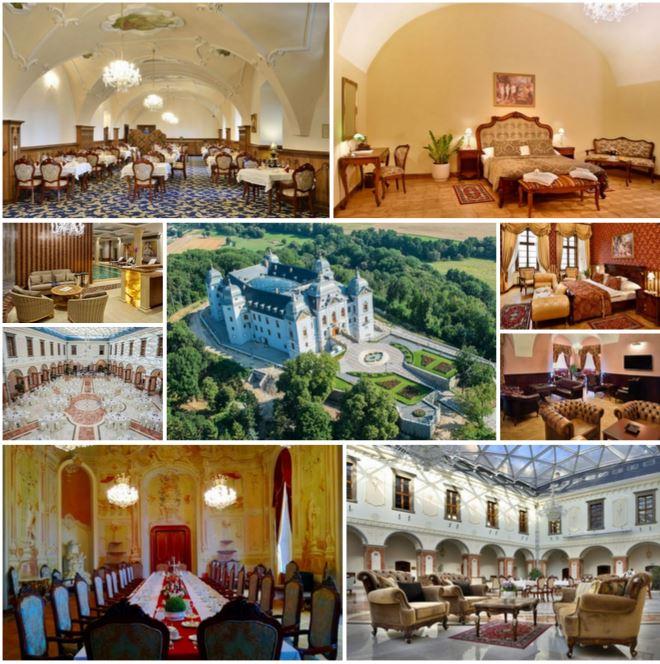 Величественный замок в Словакии, в 150 км от Будапешта