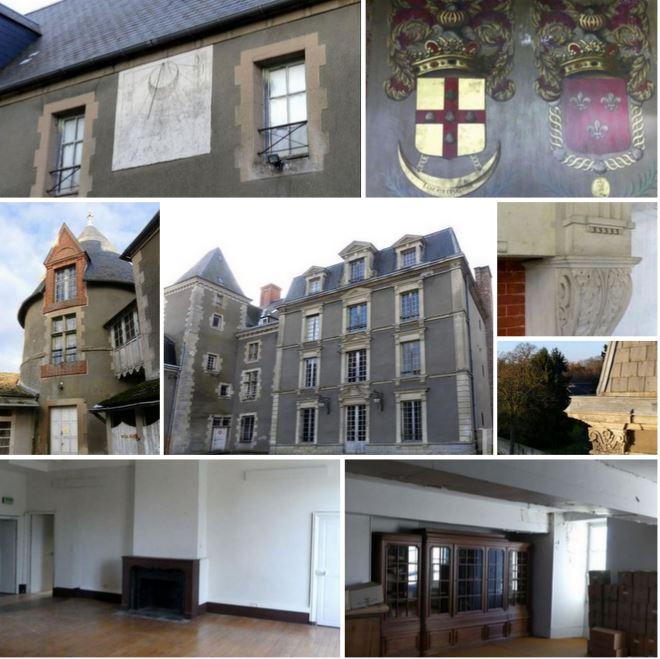Замок 15 века, с участком около 33 га, в 70 км от Парижа, Франция