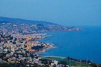 САН РЕМО, Италия, участок с видом на море под строительство виллы