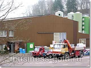 Производственное предприятие по современным технологиям в области пластика в Швейцарии.