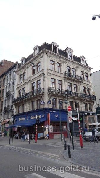 Доходный дом в центре Брюсселя
