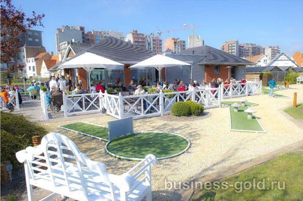 Известный мини-гольф клуб, в 200 метрах от моря и пляжа
