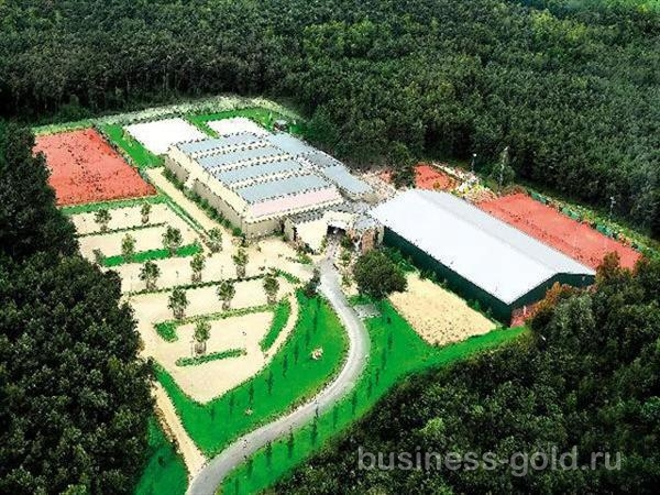 Эксклюзивный спортивный комплекс в Бельгии