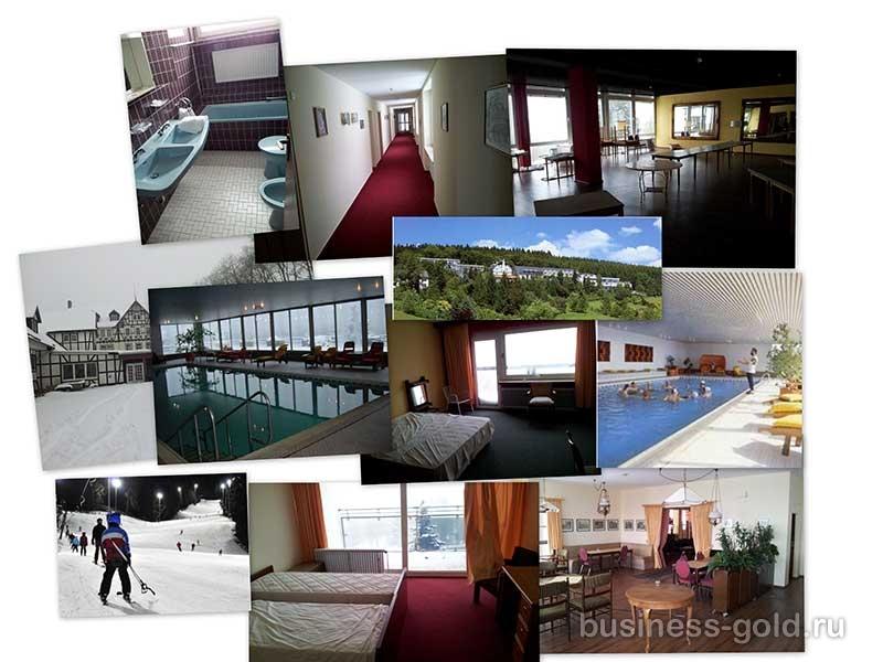 Гостиница в Северной Вестфалии (Германия) в знаменитом на весь мир курортном регионе.