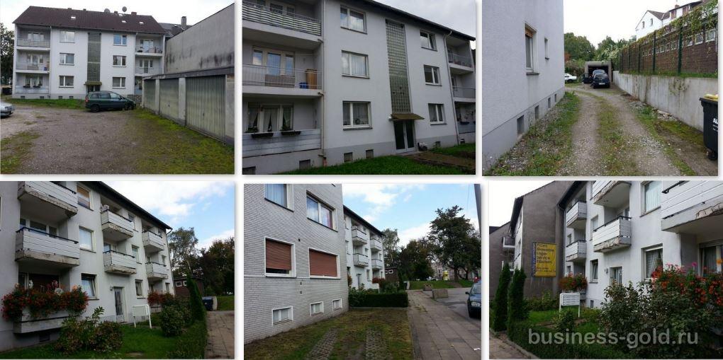 Доходный 8  - ми квартирный дом в Эссене, Северная Вестфалия, Германия, с большим садом и потенциалом.
