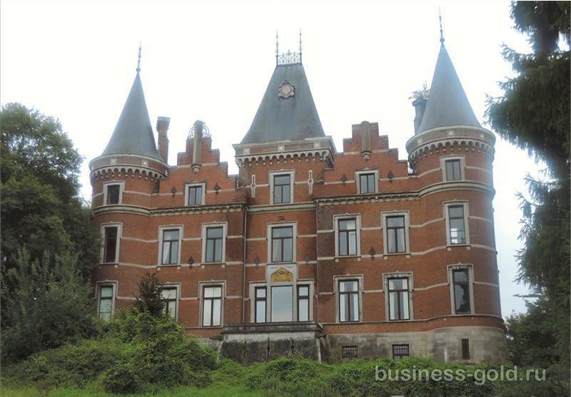 Величественный замок 19 века в Бельгии