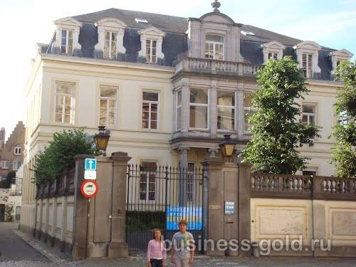 Историческое здание  в Брюгге, Бельгия
