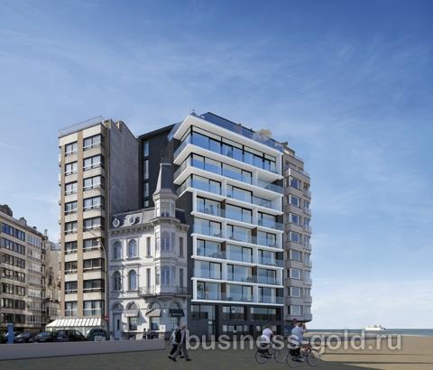 Дом в стиле Belle Epoque на бельгийском побережье, на популярном курорте Остенде