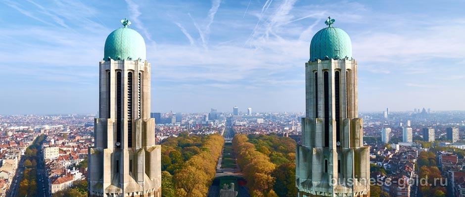 Гостиница в стиле арт деко в центральной части Брюсселя, столице Европы.