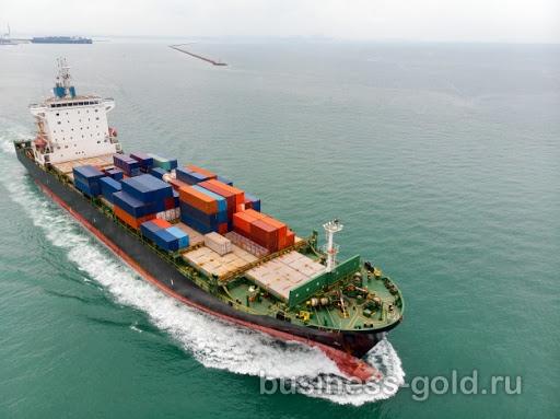 Судно для перевозки грузов, в регулярной эксплуатации, высокий ежемесячный доход